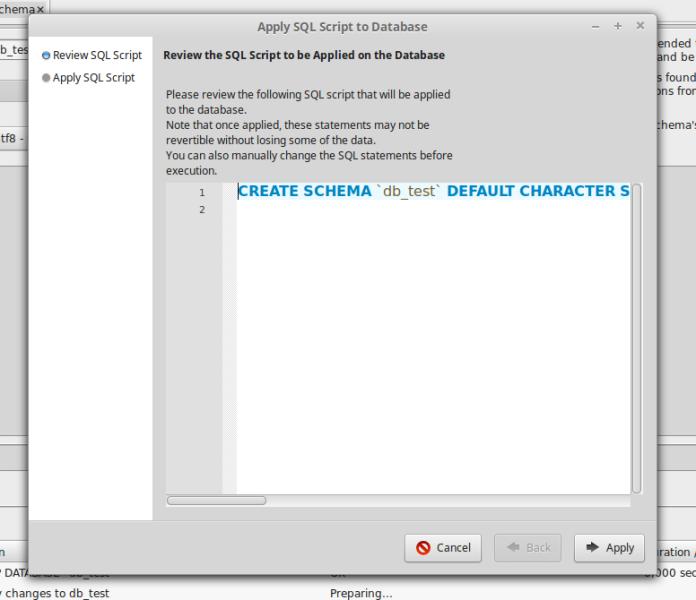 create database 3